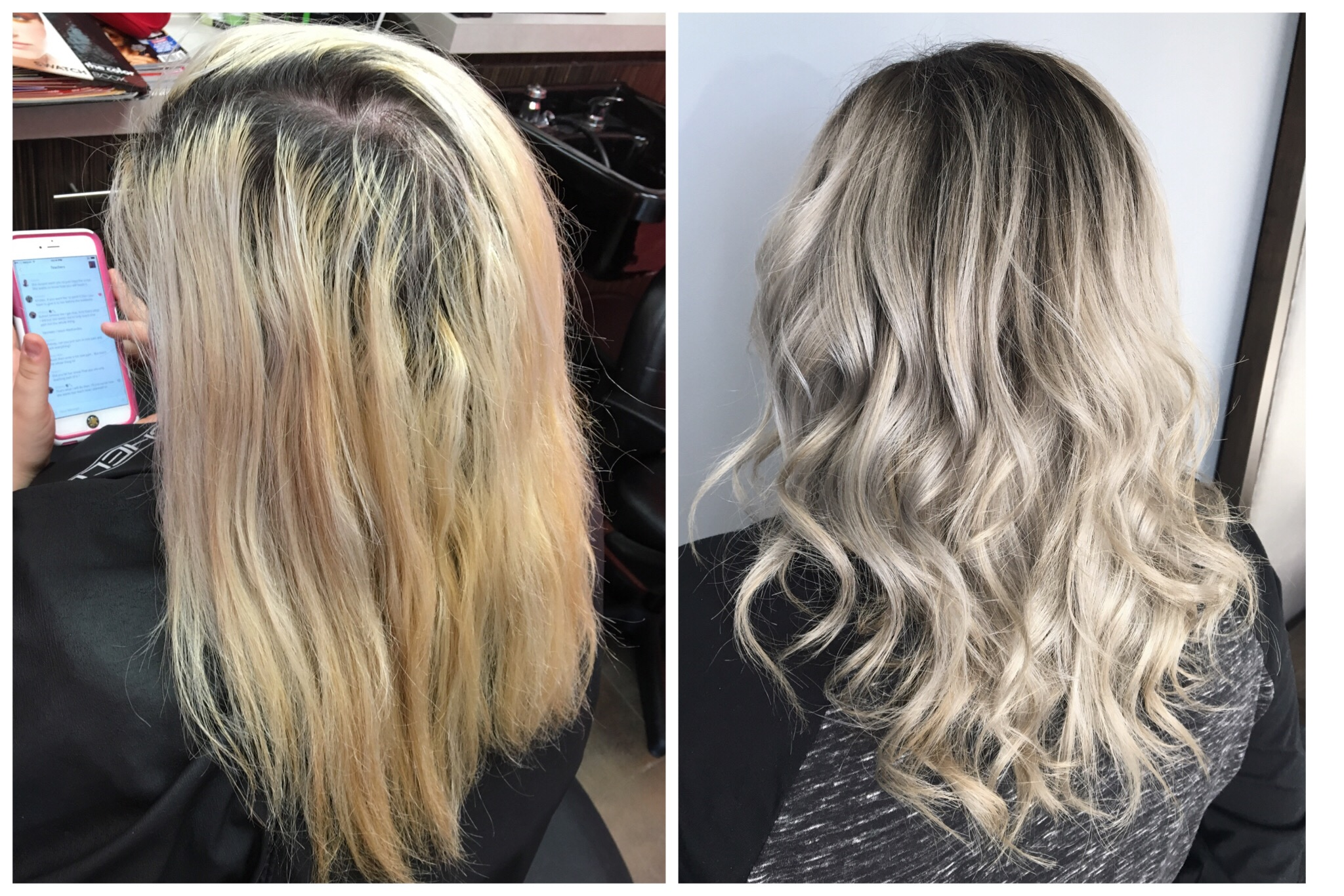TRANSFORMATION: High-Maintenance to Dimensional, Rooty Ash-Blonde