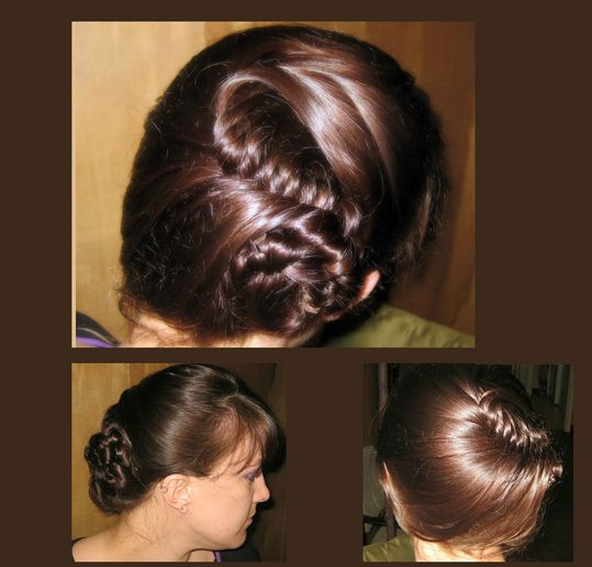 Create the Herringbone Side Bun Updo