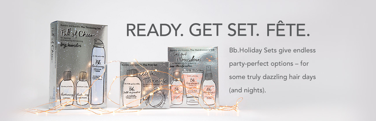 Holiday Sets from Bumble and Bumble