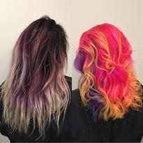 Bold Haircolor Makeover with Goldwell