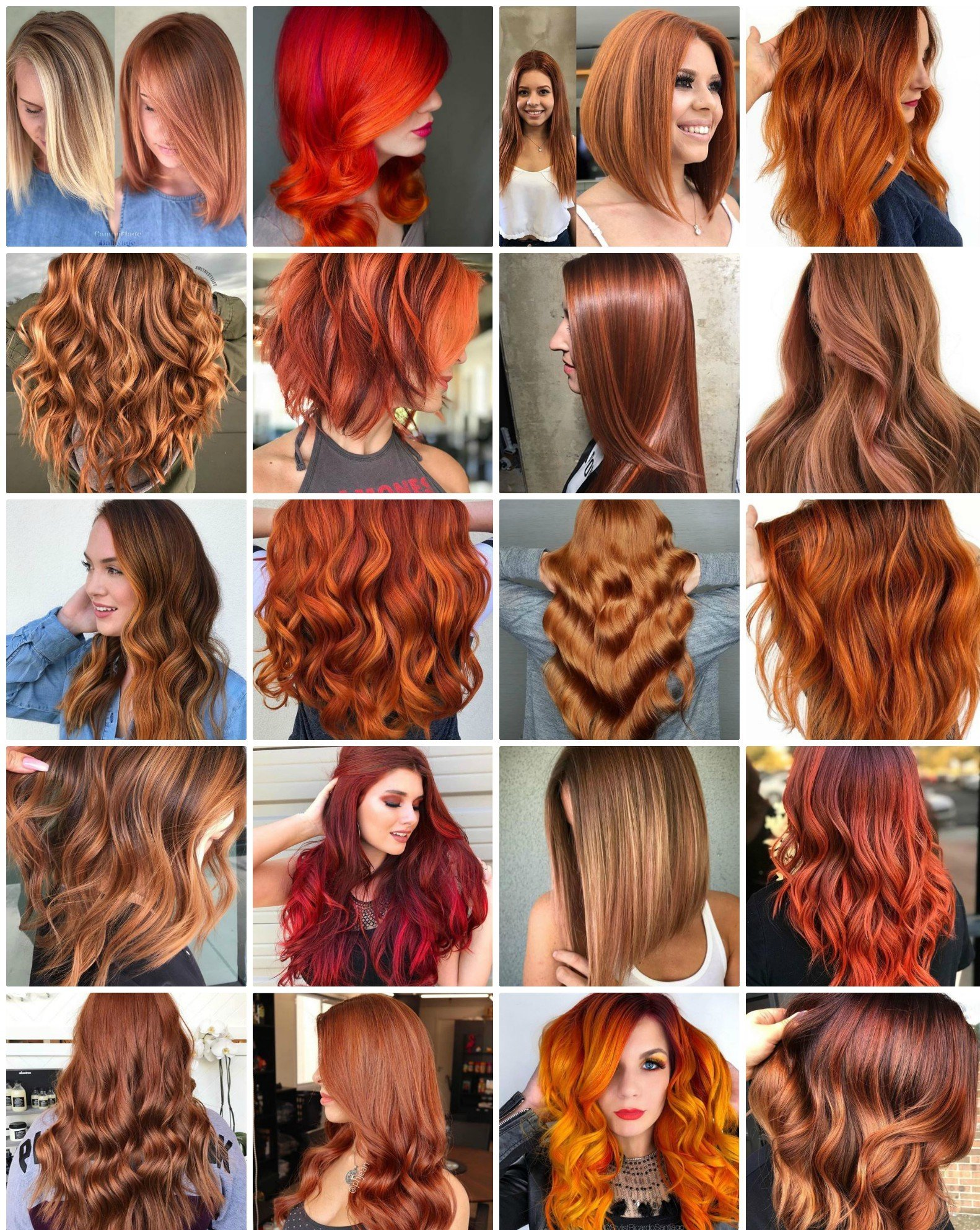 20 Red-Hot Hair Colors and Styles