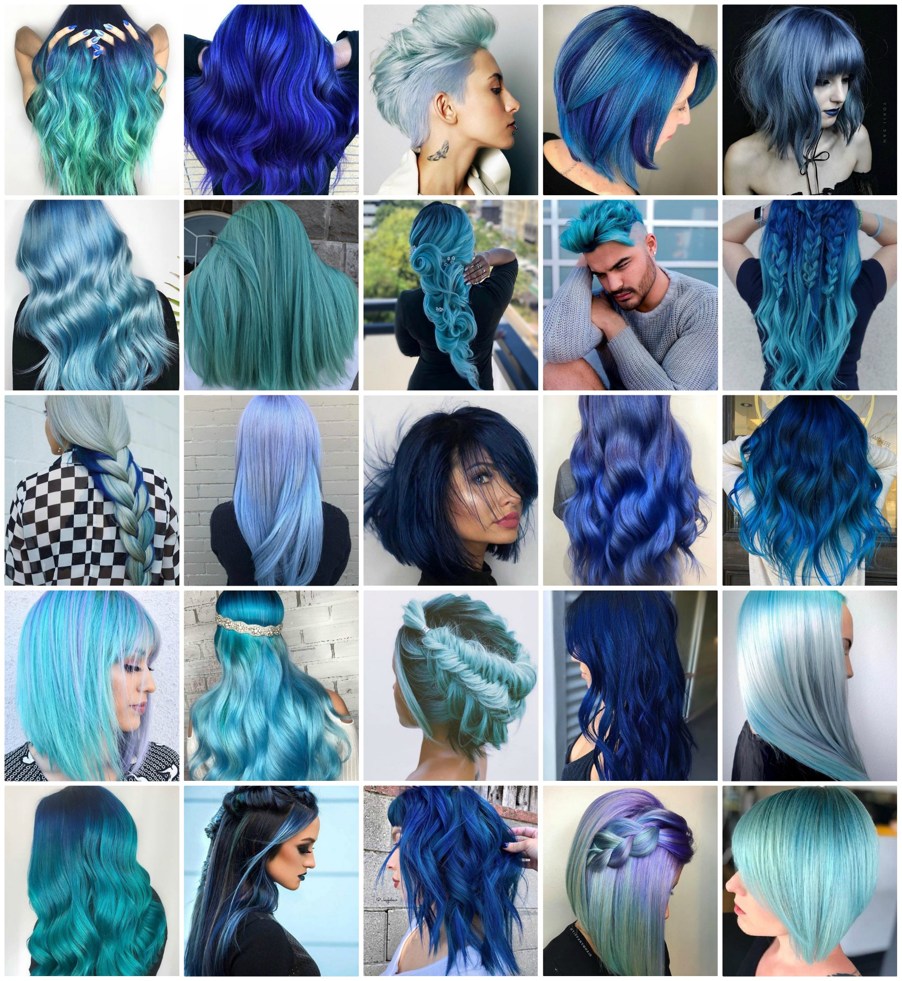 31 Blue Looks to Brighten Your Day