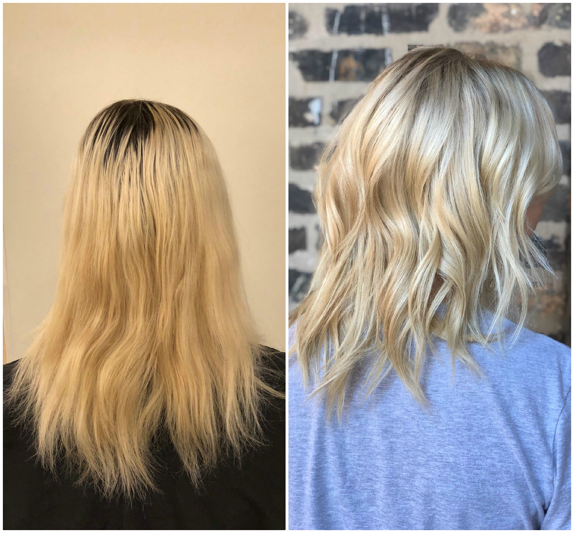 MAKEOVER: Grown-Out Platinum to Natural, Manageable Blonde