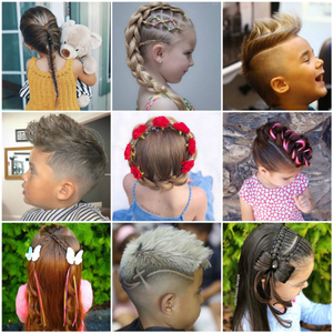 Cool Kids: 9 Hairstyles from Instagram Perfect for Children