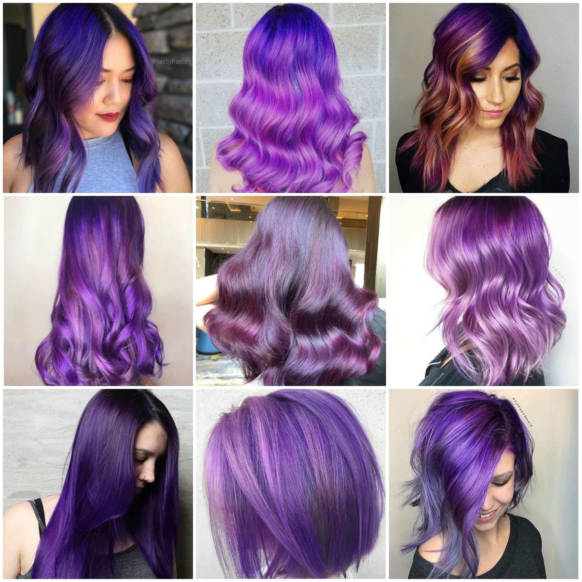 Ultra Violet: How Pantone's Color of the Year Translates to Hair Color