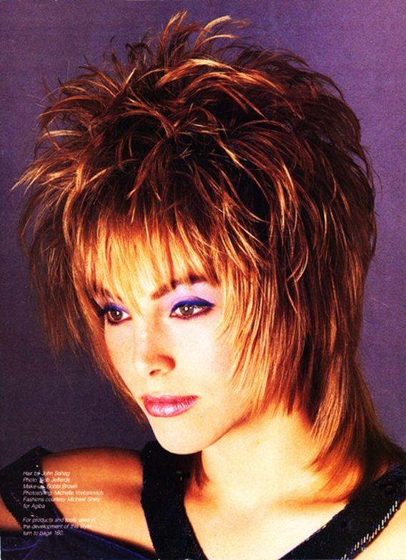 Hair by John Sahag for a Modern Salon editorial, sometime in the '90s. | Makeup: Bobbi Brown