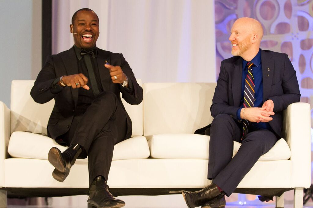 Ted Gibson and Jason Backe shared insider secrets to branding.