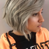TRENDING HAIR: Icey Tones, Textured Cut