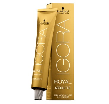 4 New Shades in Schwarzkopf Professional's IGORA ROYAL ABSOLUTES - For Women 40+