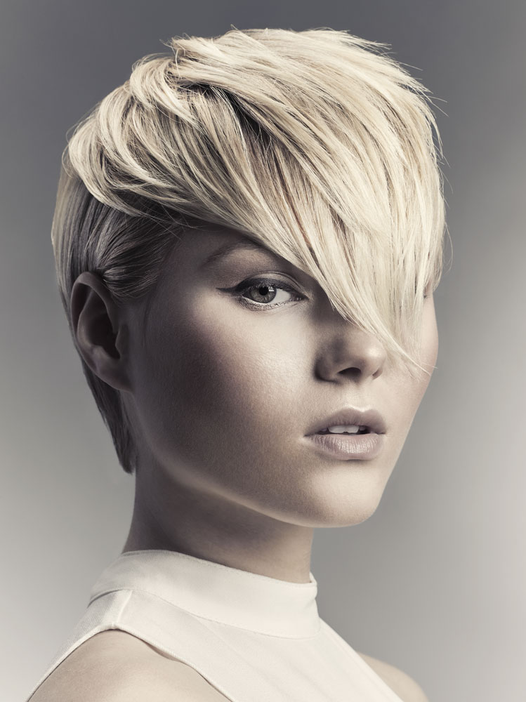 Wearing Winter White Collection by Ammon Carver Studio Celebrates Blondes