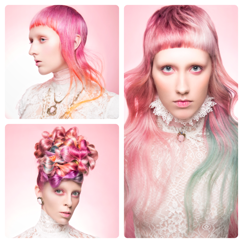 <strong>Student Hairstylist:</strong>McKell Hird, Aveda Institute Provo, Provo, UT