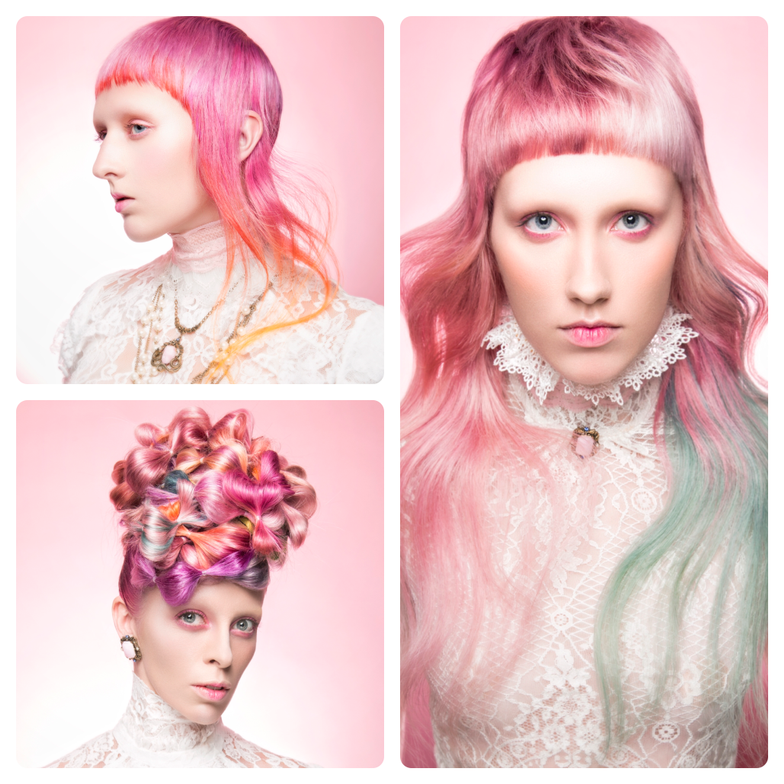 <p><strong>Student Hairstylist:&nbsp;</strong>McKell Hird, Aveda Institute Provo, Provo, UT</p>
