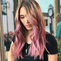 Balayage Beauty: From Box Color to Pink Sophistication