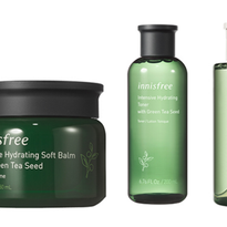 Green Tea Enhances Innisfree Skin Care Collection
