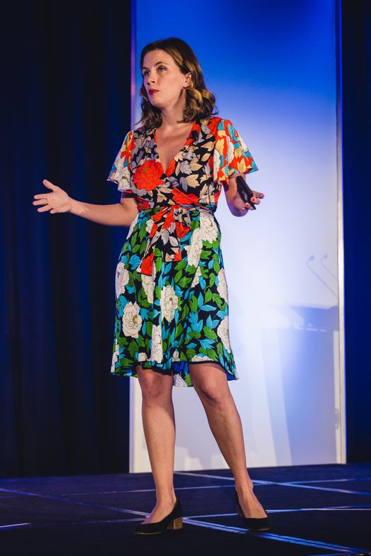Business intelligence expert Maureen Mullen, co-founder and chief strategy officer of L2, Inc walked through some of the major disruptors facing the whole beauty industry including a deep dive into Amazon.