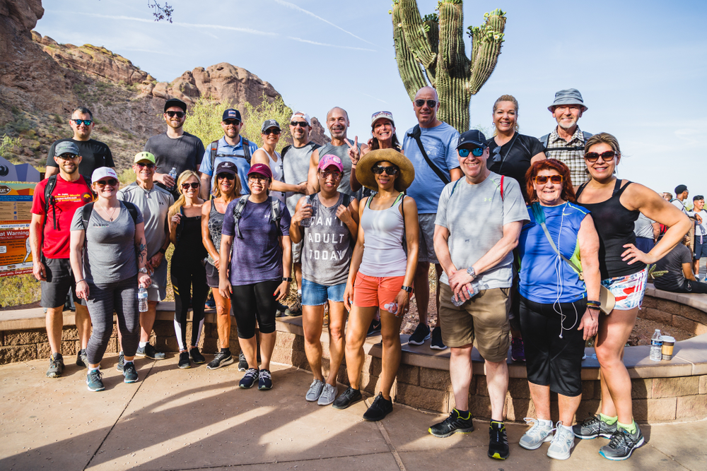 Day one began with a trek up Camelback Mountain in Scottsdale: ISBN is as much about networking and bonding with peers as it is about learning.