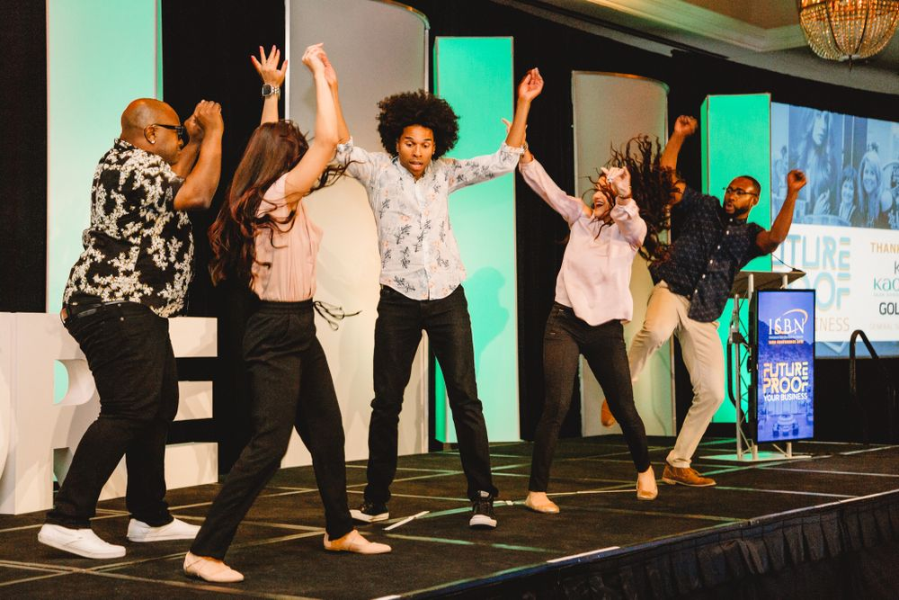 """A flash mob is a symbol of confusion, disruption, fun, excitement, and I think that's what the future holds for us,"" said president Rhoda Olsen, chair of Great Clips."