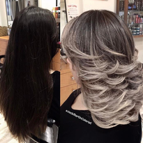 MAKEOVER: 2 Steps To Ashy Ombre