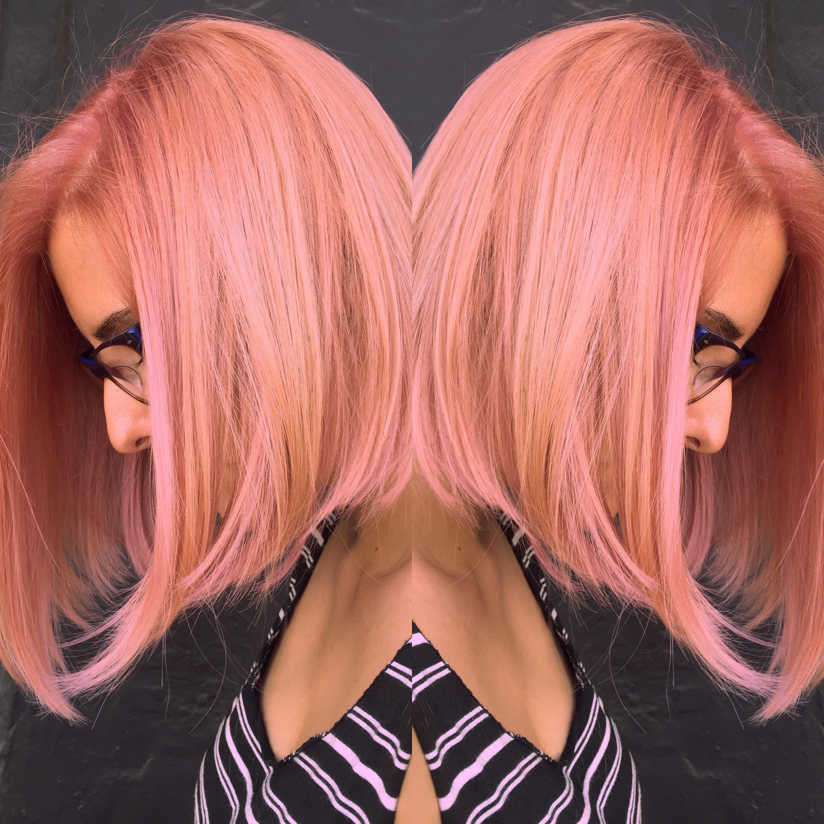 COLOR FORMULA: Pink Dream