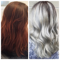 Makeover: Years Of Henna To Silver