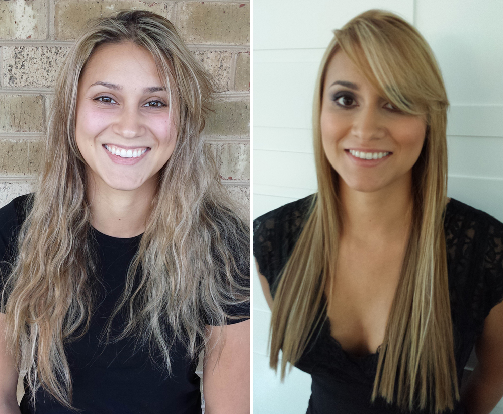 Left: Before || Right: After