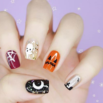 We're Dying Over these 20 Halloween Nail Designs