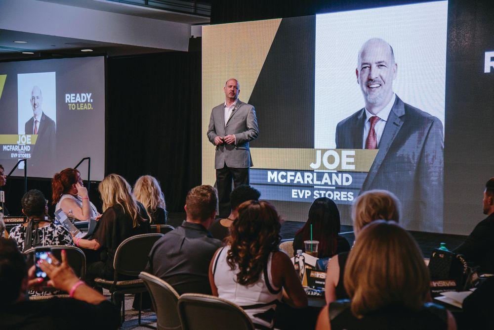 Joe McFarland shared leadership advice.