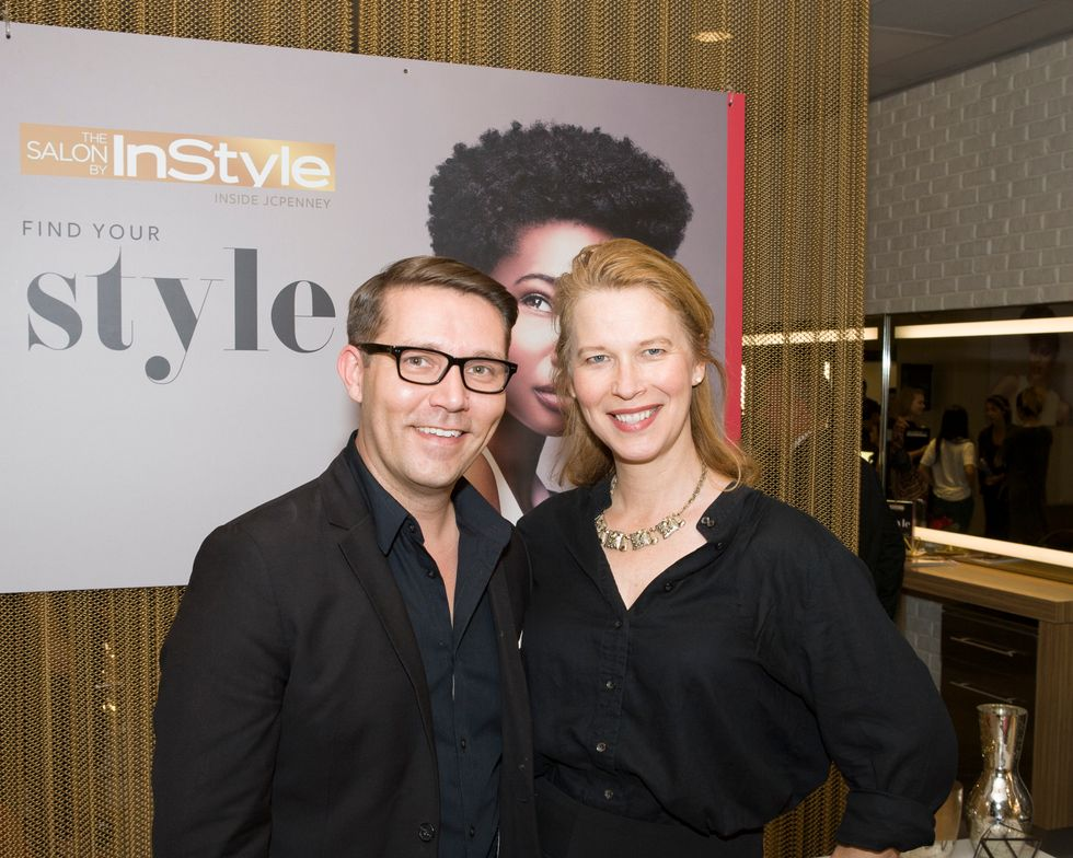 John Edwards, Salon by InStyle Design Team Member and Anne Moratto of MODERN SALON