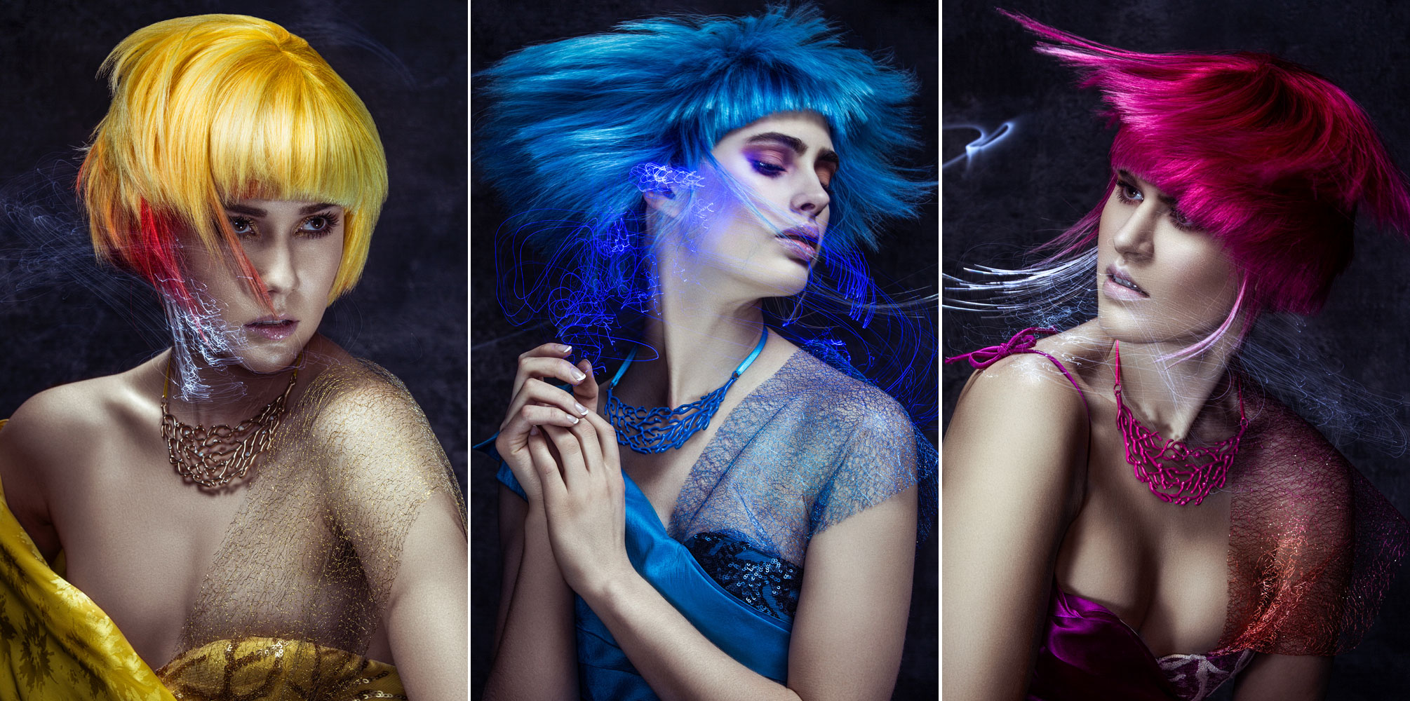 Deep Blue Sea Collection by Charles Robinson Captures Light and Movement