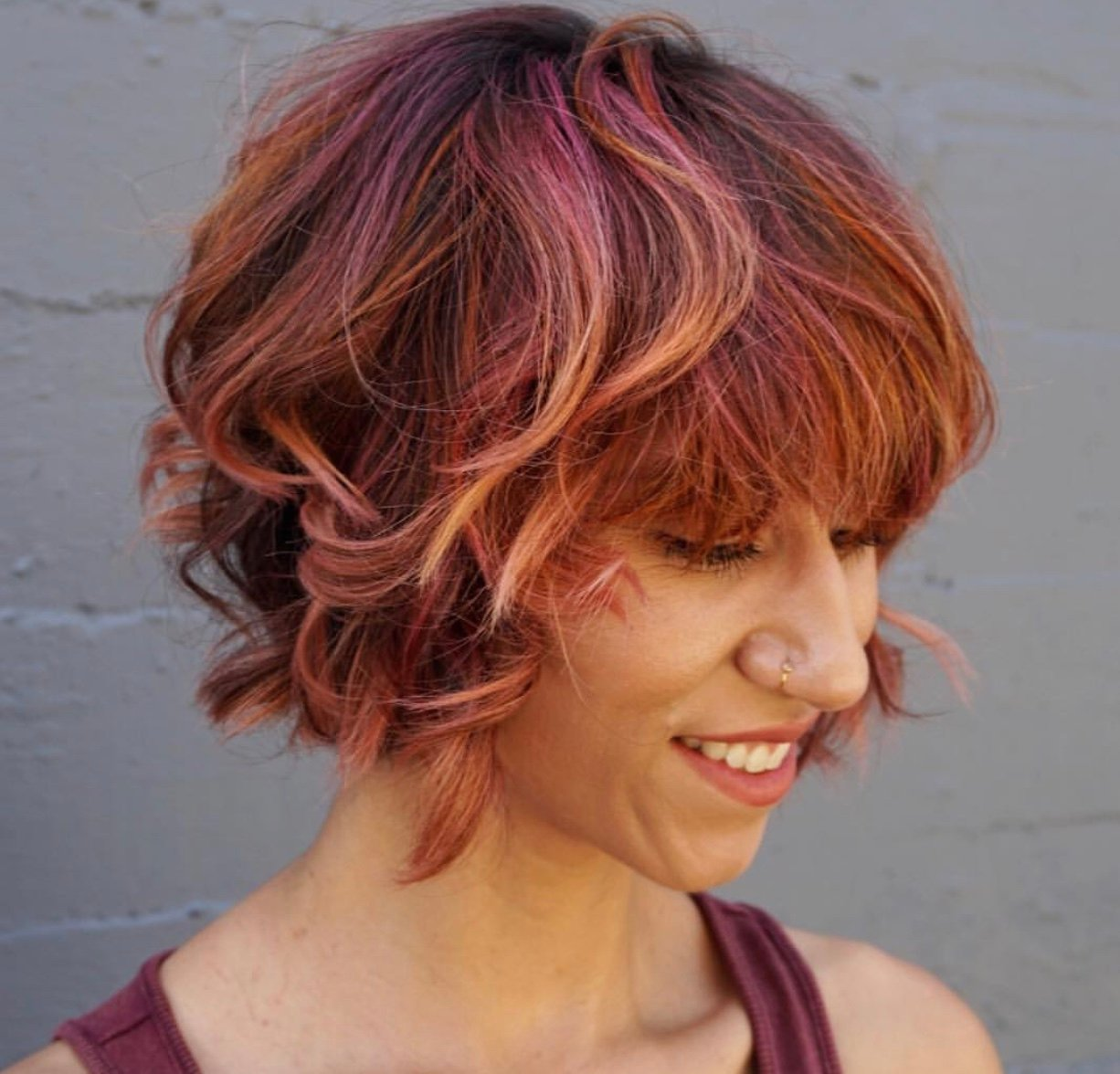 Low-Maintenance Rainbow Sherbet Hair Color How-To
