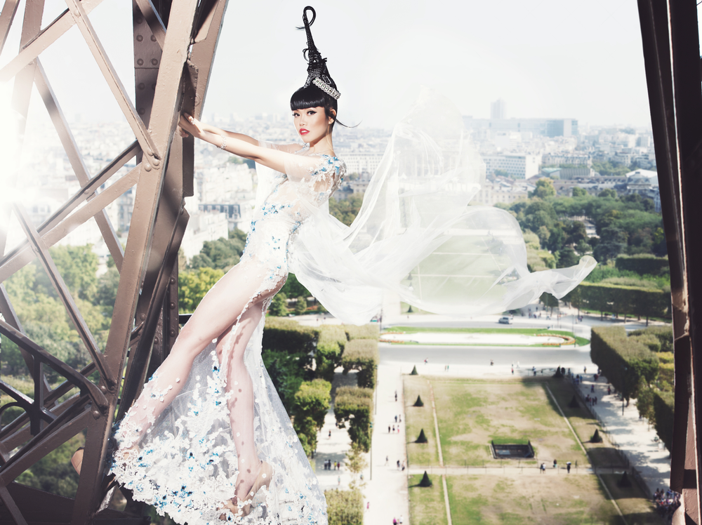 PARIS, FRANCE, fashion by Hoang Hai & Buccellati