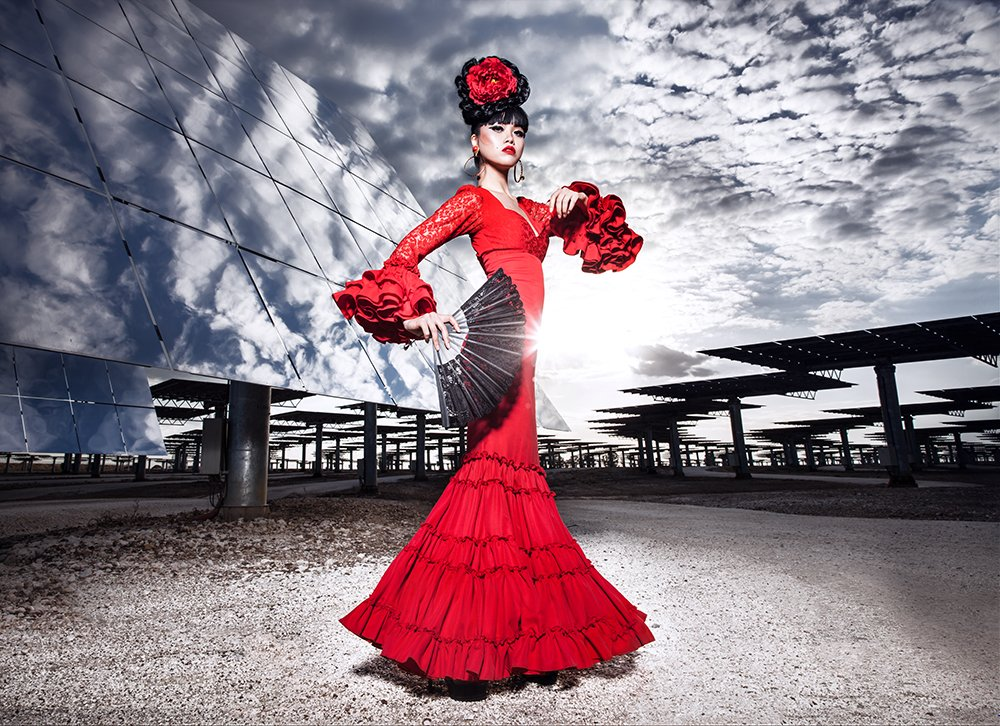 SEVILLE, SPAIN, fashion by Pilar Vera