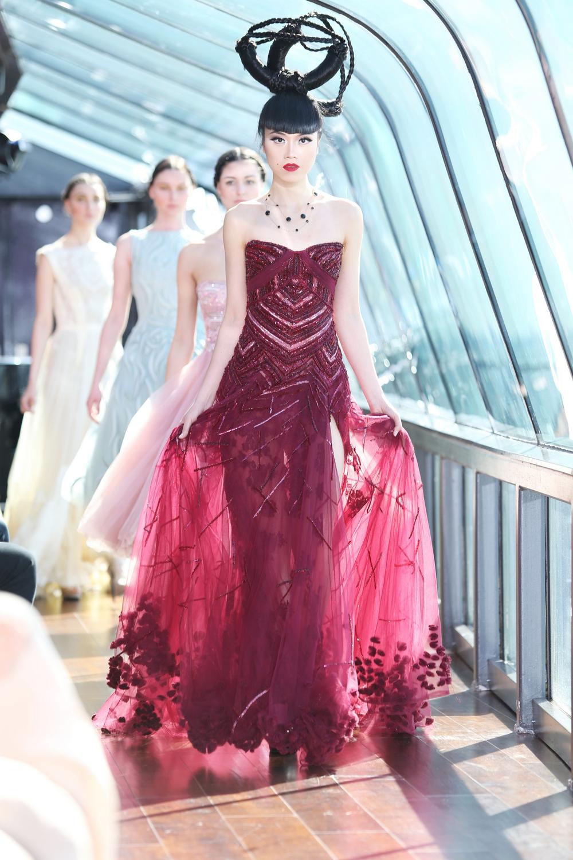NYC, fashion by Tony Ward & Ivanka Trump Jewelry