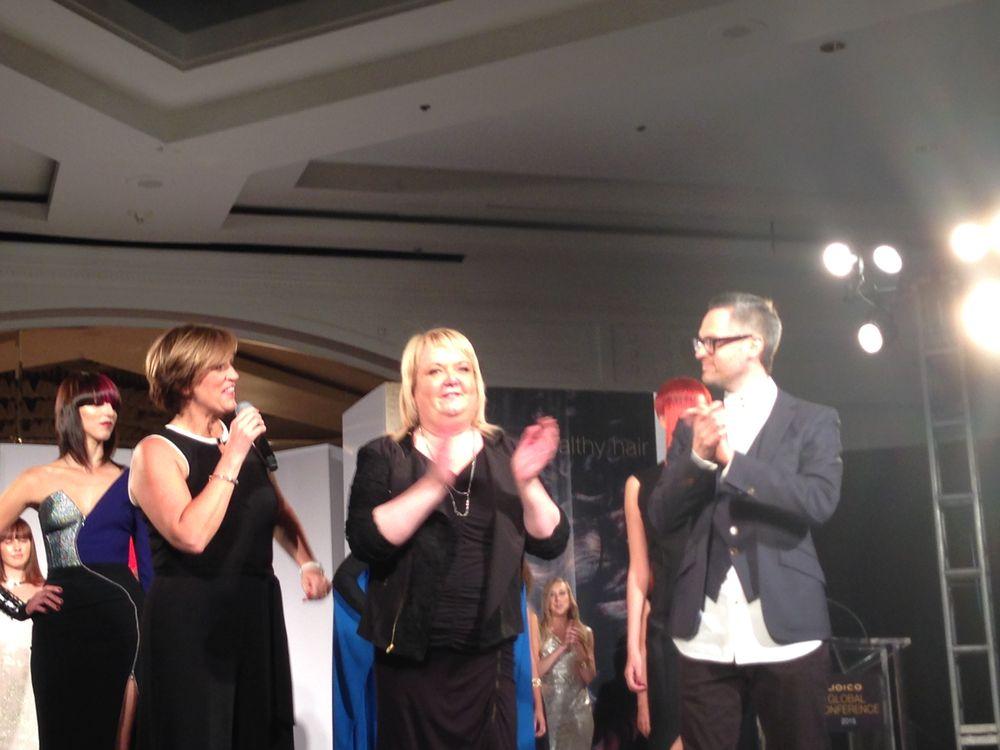 Sara Jones, Sue Pemberton and Jeremy Davies Barbala