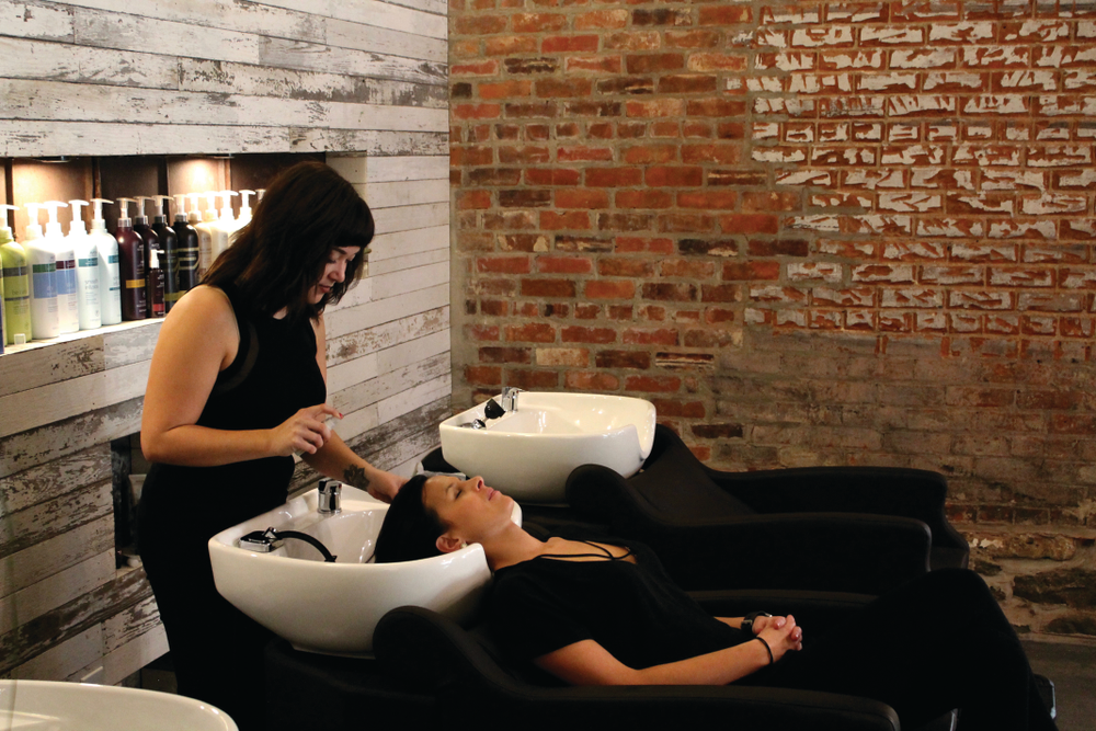Industry NKY colorist Jordan Hoffmann delivers a $15 add-on botanical hair therapy treatment.