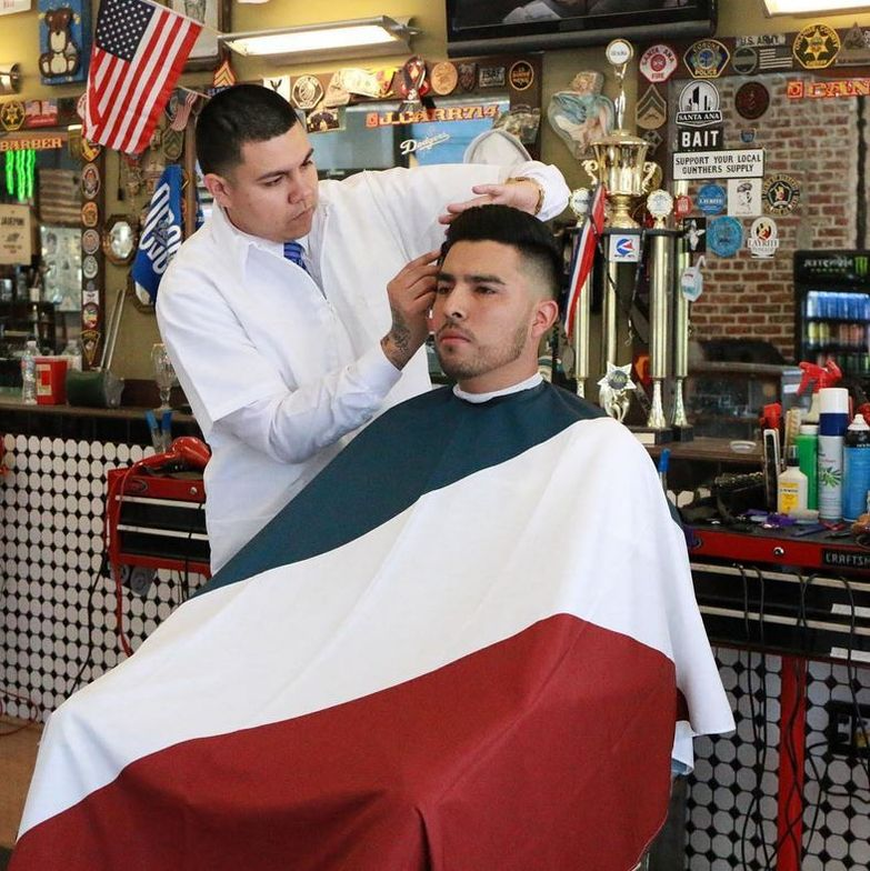 <strong>Jose Montejano</strong>, 3rd place winner in <strong>Wahl's Online Barber Battle</strong>
