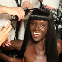 NYFW: Subtle, Wearable Texture by Eugene Souleiman for Jeremy Scott and Wella