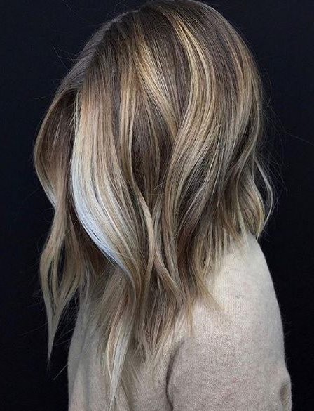 One vanilla dream, please! This lob by @justhairobsession is just TOO perfect.