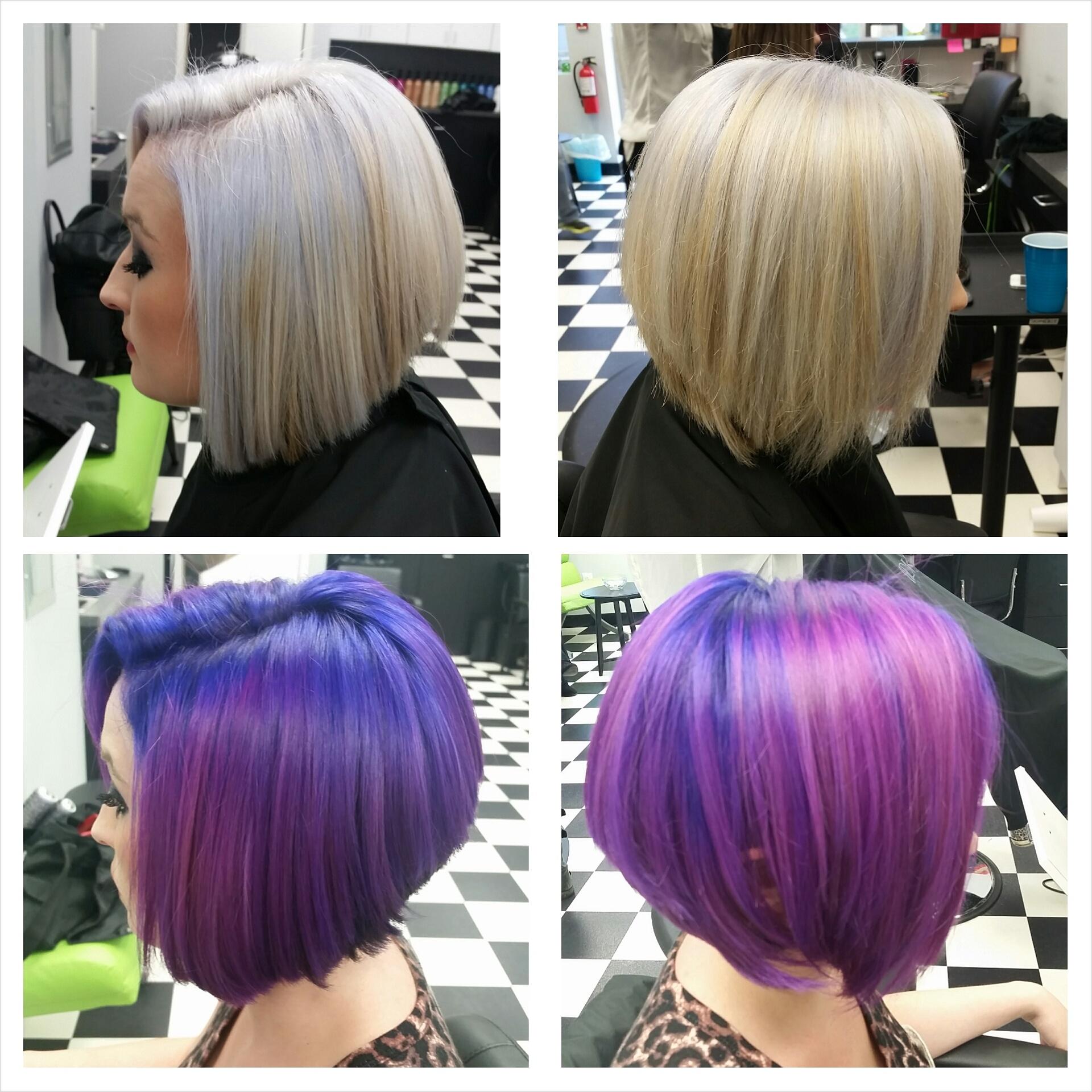 THE CHANGE UP: Platinum To Purple/Violet Dimension