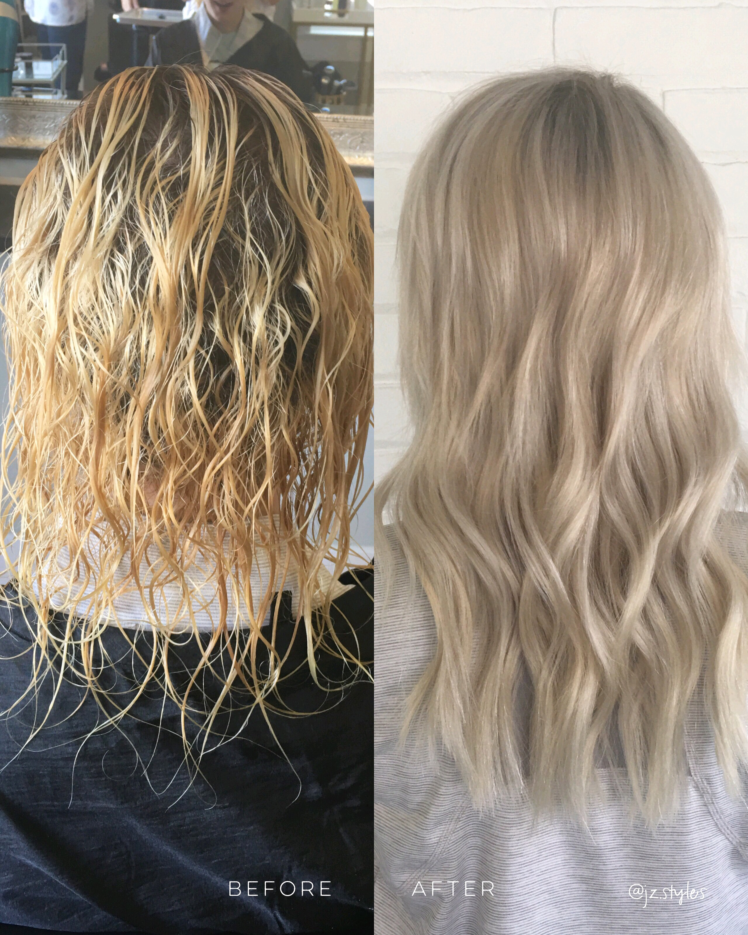 Makeover: Addressing Tone and Texture For The Perfect Blonde