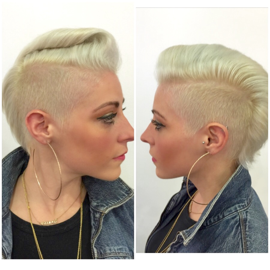 HOW TO: Blonde Mohawk