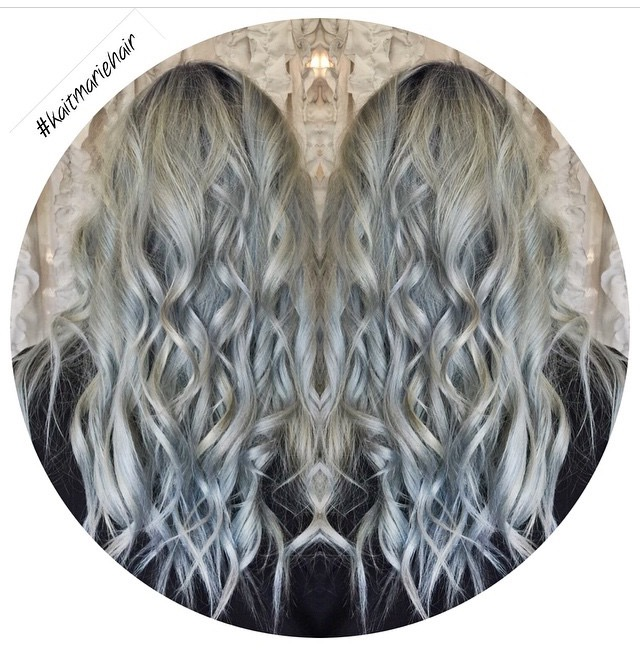 TRANSFORMATION: Icy Silver Blue Color Melt