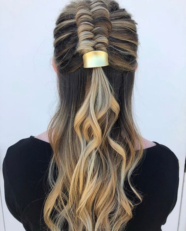 @hairbykatied's elegant, yet upgraded, braiding techniques are clean