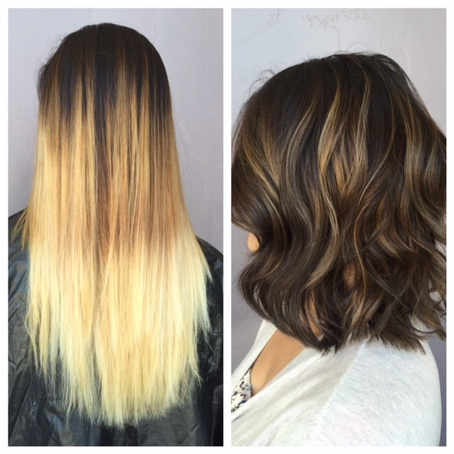 Grown Out Box Ombre To Dimensional Chocolate LOB