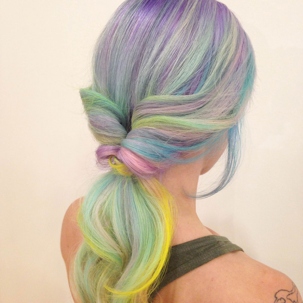 How-To: Rainbow Pastels