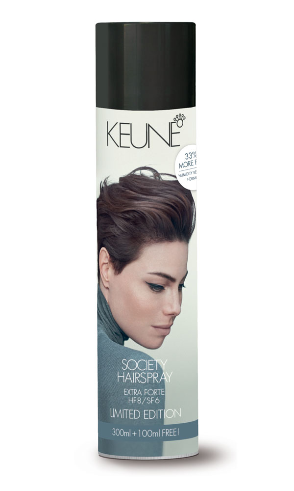 Keune's Limited-Edition Extra Forte Hairspray + Holiday Retailing Tips!
