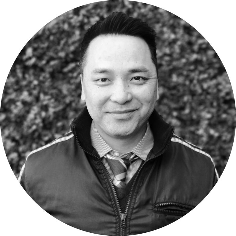 Khiem Hoang, business manager for Umbrella Salon in San Jose, California.