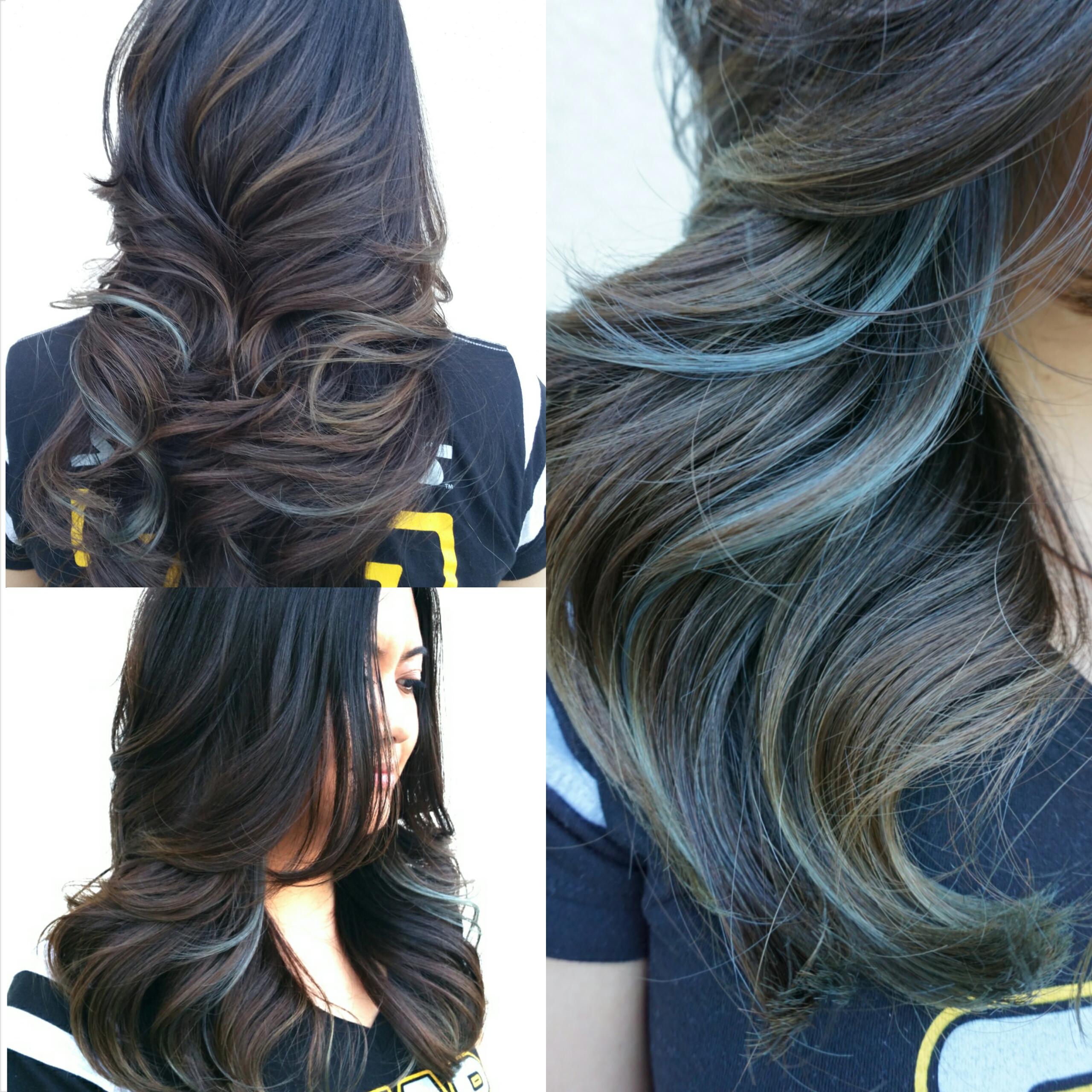 The Show Stopper: Dramatic A-Line Bob With Fancy Color