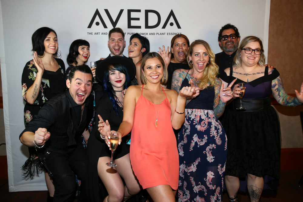 Aveda congratulates its artists who were recognized with top honors at the North American Hairstyling Awards.