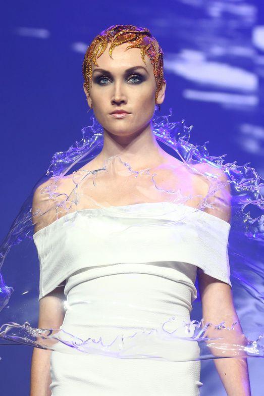 Aveda Liquid Life presentation at the North American Hairstyling Awards.